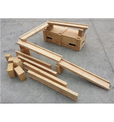 Small Box of Troughs and Blocks