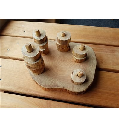 Wooden Stack (medium)