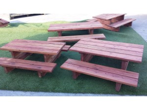 Tables, benches & chairs
