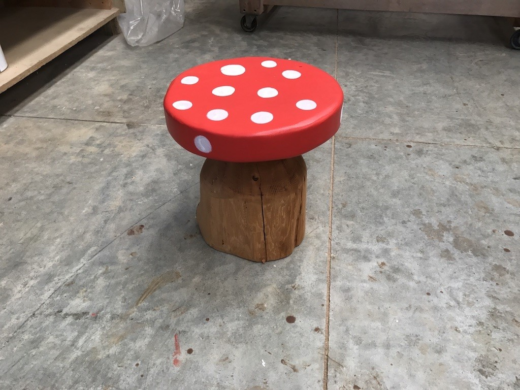 Mushroom Seat In Tables Benches Chairs
