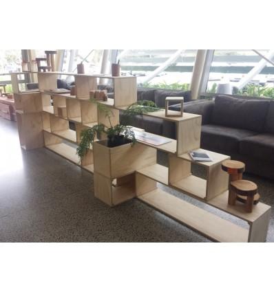 Modular Shelving System, Pine