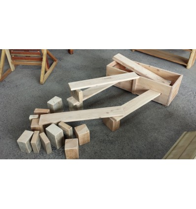 Small Box of Planks and Blocks