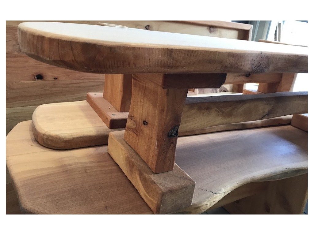 Natural Wood Bench Seat Ruru In Tables Benches Chairs